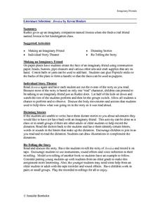 """Jessica"" by Kevin Henkes Lesson Plan"