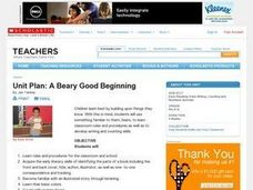 A Beary Good Beginning Lesson Plan