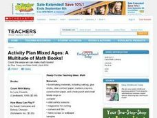 Let's Create Math Books Lesson Plan