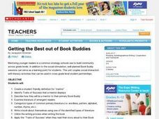 Getting the Best out of Book Buddies Lesson Plan