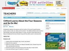 Clifford Learns About the Four Seasons and So Do We! Lesson Plan