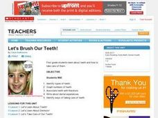 Let's Brush Our Teeth! Lesson Plan
