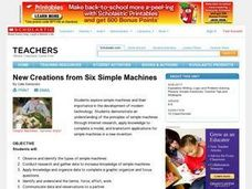 New Creations from Six Simple Machines Lesson Plan