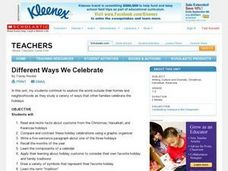 Different Ways We Celebrate Lesson Plan