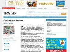 Celebrate Your Heritage Lesson Plan