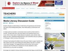Media Literacy Discussion Guide Lesson Plan