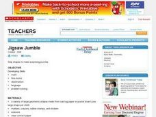 Jigsaw Jumble Lesson Plan