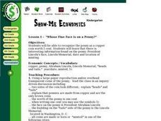Show Me Economics Lesson Plan