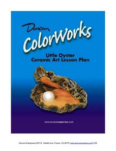 Little Oyster Ceramic Art Lesson Lesson Plan