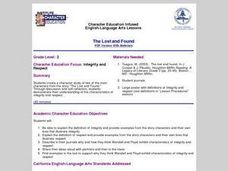 The Lost and Found Lesson Plan