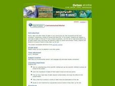 Contaminated Water Lesson Plan