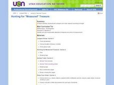 Hunting for Measured Treasure Lesson Plan
