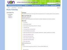 Picnic Field Day Lesson Plan