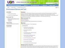 Environment Review and Test Lesson Plan