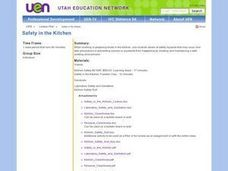 Safety in the kitchen lesson plan for 9th 12th grade lesson planet Kitchen design lesson plans