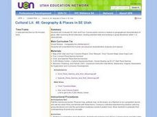 Geography & Places in SE Utah Lesson Plan
