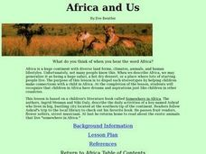Africa and Us Lesson Plan