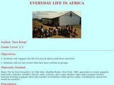 Everyday Life in Africa Lesson Plan