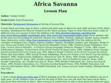 Africa Savanna Lesson Plan