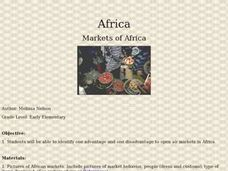 African Markets: Out in the Open Lesson Plan