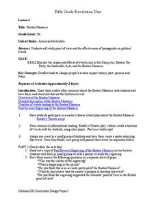 boston massacre worksheet for 5th grade lesson planet. Black Bedroom Furniture Sets. Home Design Ideas