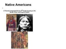 Native American Homelands Lesson Plan