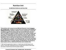 Nutrition: Gregory the Terrible Eater Lesson Plan