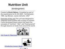 Nutrition: Banquet for the Bunch! Lesson Plan