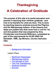 Thanksgiving: A Celebration of Gratitude Unit