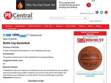 Bottle Cap Basketball Lesson Plan