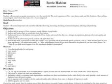 Bottle Habitat Lesson Plan