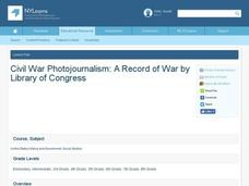 Photojournalism: A Record of War Lesson Plan