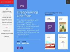 Laurence Yep's Dragonwings Lesson Plan