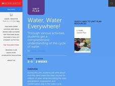 Water Water Everywhere! Lesson Plan