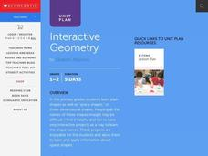 Interactive Geometry Lesson Plan