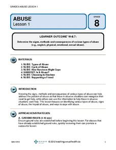 Various Types of Abuse Lesson Plan