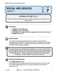 Social Influences (Lesson 1) Lesson Plan
