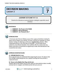 Decision Making (Lesson 2) Lesson Plan