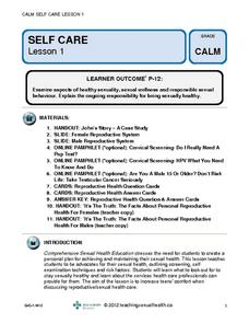 Self Care Lesson Plan