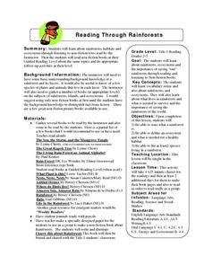 Reading Through Rainforests Lesson Plan