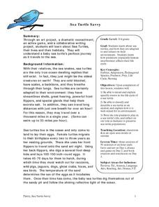 Sea Turtle Savvy Lesson Plan