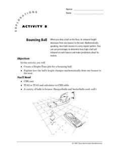 Bouncing Ball Lesson Plan