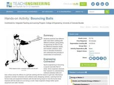 Bouncing Balls Lesson Plan