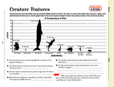 Creature Features Lesson Plan