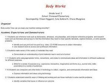 Health: Body Systems Lesson Plan