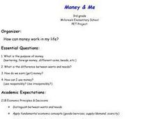 Money & Me Lesson Plan