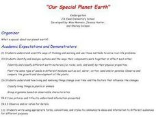 Our Special Planet Earth Lesson Plan
