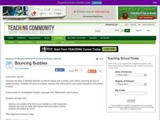 Bouncing Bubbles Lesson Plan