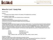 Where Do I Live?-Family Pride Lesson Plan