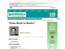 """From Reefs to Rocks!"" Lesson Plan"